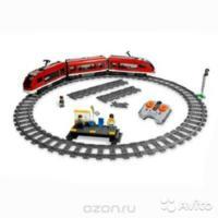 Lego city 7938 Пассажирский поезд 6-12 лет
