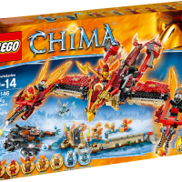 Продаю новый набор из серии Легенды Чимы Огненный летающий Храм Фениксов арт.70146