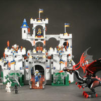 Лего King's Castle 7094 Осада Королевского замка