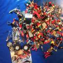 Лего россыпью+инструкция к megabloks Dune Buggy Racer и несколько деталей к ней