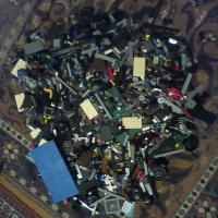 LEGO россыпью киллограма 3 примерно