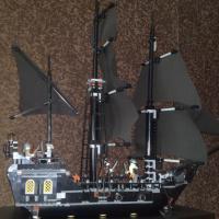 Корабль Чёрная Жемчужина 4184