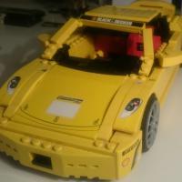 Лего 8143. Lego Racers Ferrari F430