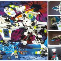 Exploriens 6982 Explorien Starship/ Лего 1996