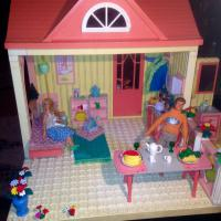 Lego scala-раритет выпуск1997.3набора,5кукол