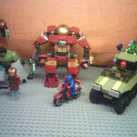 Продам LEGO MARVEL 76017 Captain Amerika vs. Hydra и 76031 The Hulk Buster Smash