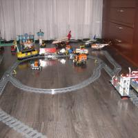 Lego city 66405 железная дорога б/у с инструкциями