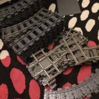 110+ шт оригинальные рельсы LEGO [современные+9V system]