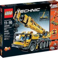 Конструктор Lego Technic Mobile Cran MK II 42009 Лего Техник Передвижной кран MK II ( 2 606 деталей)