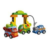 Лего дупло машинки-трансформеры 10552
