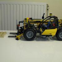 Lego Technic 8295 Телескопический погрузчик