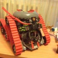 Lego ninjago garmatron (без инструкции) оригинал