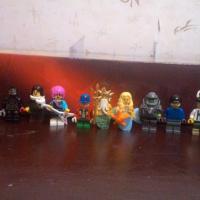 13 коллекционных lego фигурок (lego minifigures)