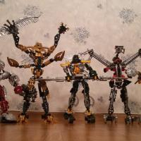 Lego Bionicle 2002-2006+Wit toys+детали(матораны)