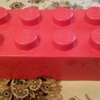 Контейнер для хранения кирпичик Лего