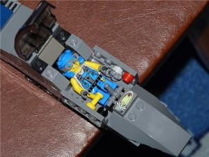 Самолет А-10 кабина пилота