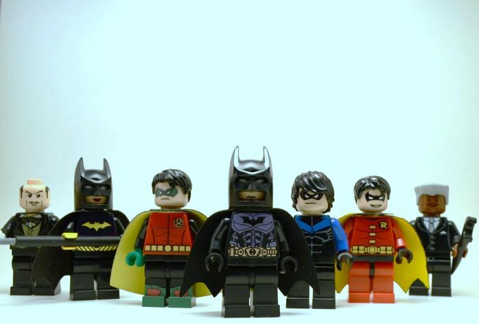 Все Бэтмены и Робины