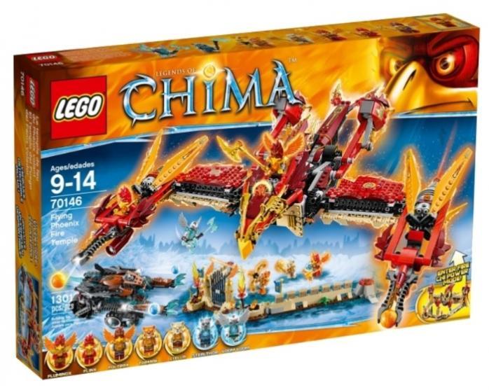 Огненный летающий Храм Фениксов