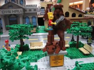 Статуя в Спринфилде
