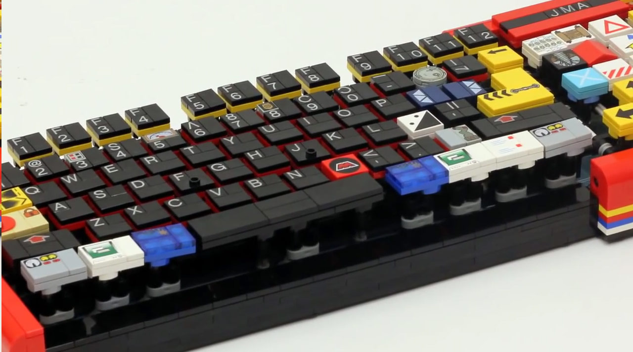 Необыкновенная клавиатура