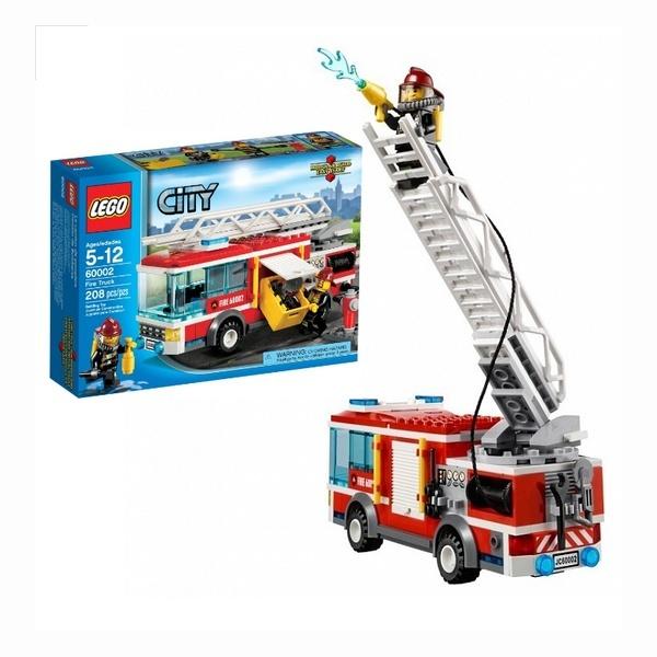Купить лего сити пожарная машина
