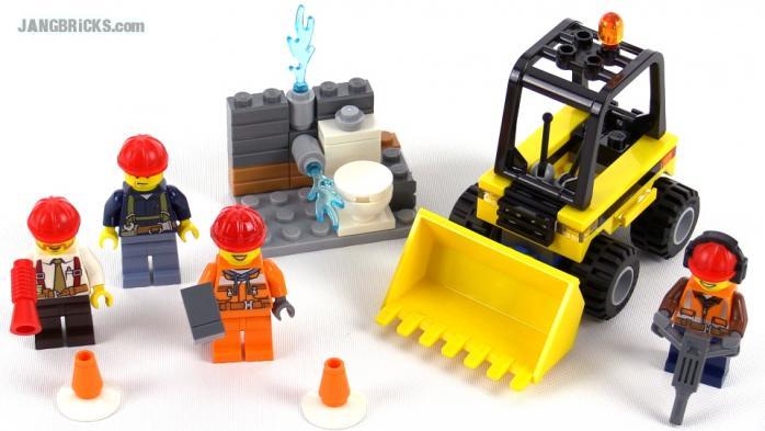 Лего Сити 60072 Набор для начинающих — Строительная ... Лего Сити Инструкции