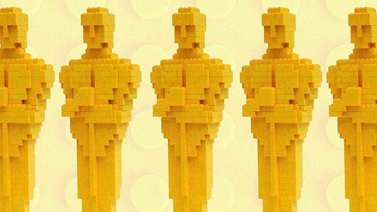 Оскар из Лего