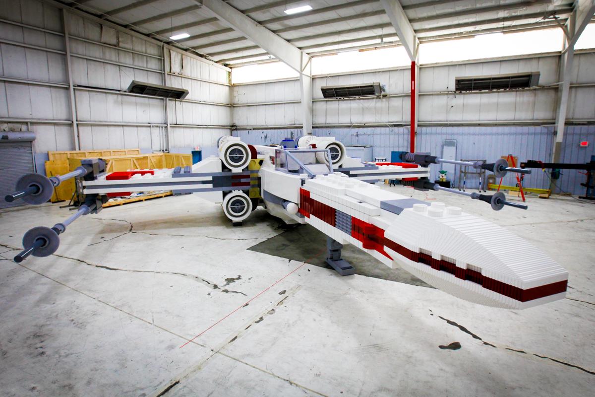Самая большая модель LEGO
