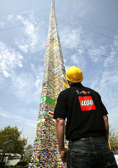 Самая большая башня