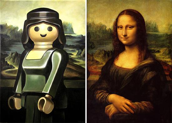 Искусство в стиле Lego