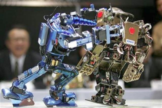 Роботы из лего в российских университетах