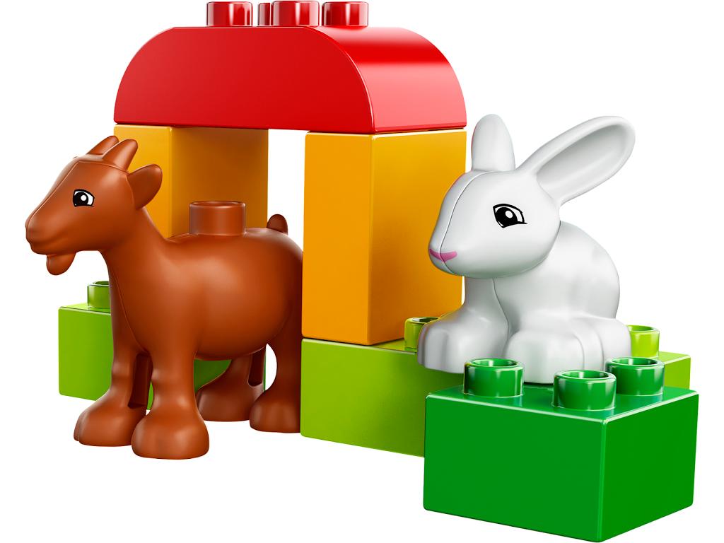Лего дупло животные на ферме