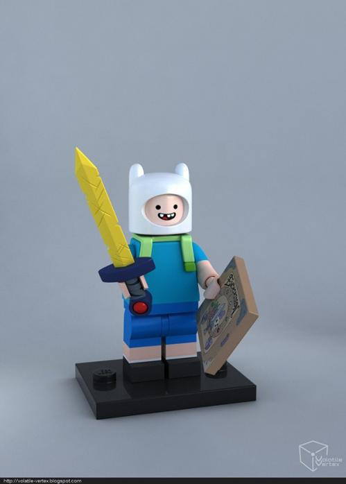 Adventure Time в LEGO