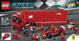 Феррари F14 и грузовик Скудерии Феррари