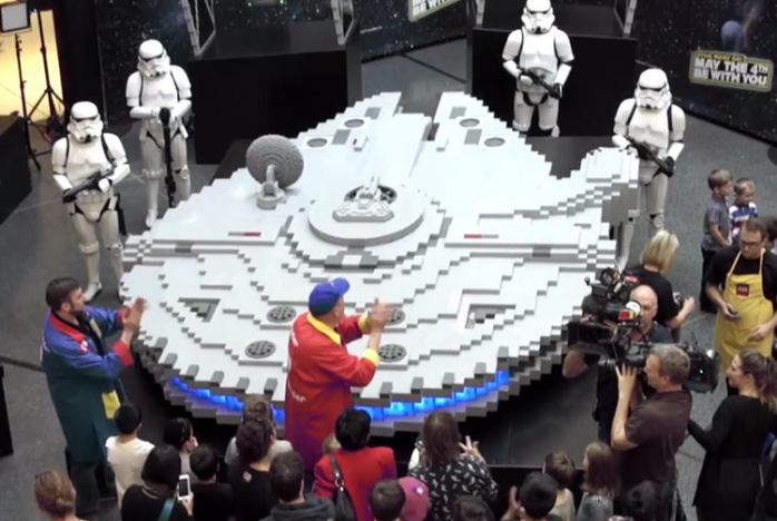Самый большой корабль из Звездных войн
