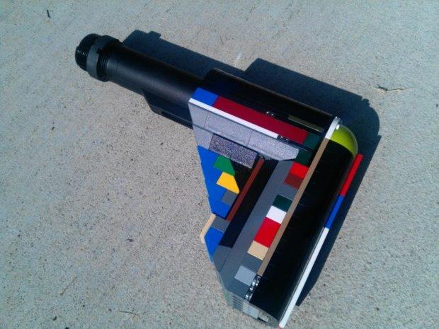 Винтовочный приклад из Lego