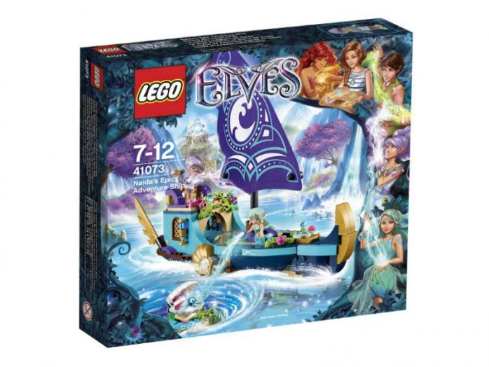 Лего эльфы корабль наиды купить