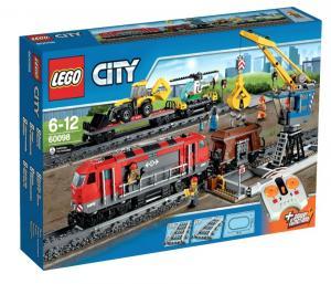 Мощный грузовой поезд