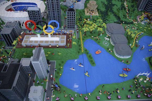 Олимпийский Рио-де-Жанейро из Лего