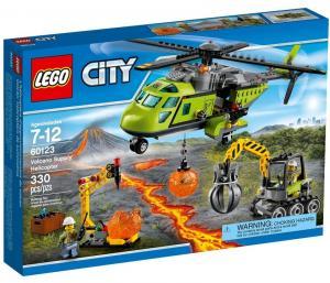 Грузовой вертолёт исследователей вулканов