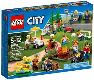 Праздник в парке — жители LEGO CITY