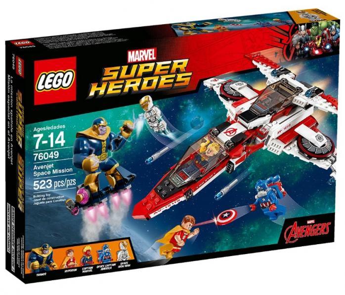 Лего марвел цена