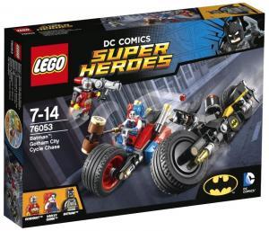 Бэтмен: Погоня на мотоциклах по Готэм-сити