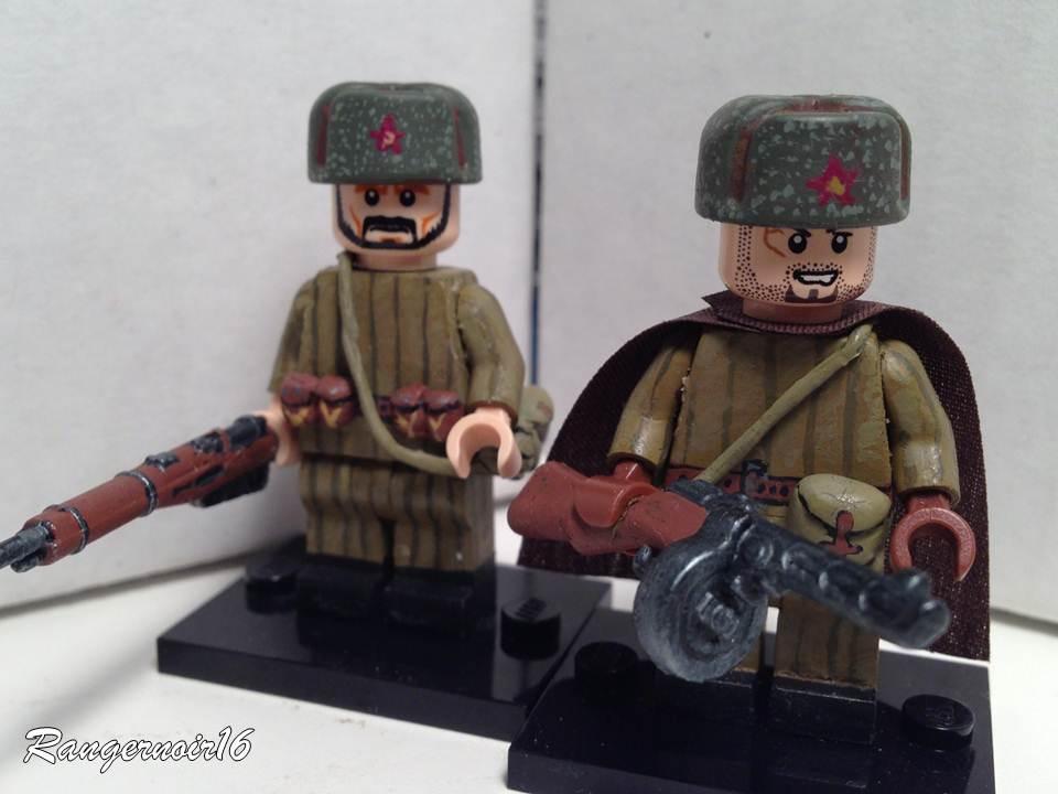 Солдаты 2 мировой войны