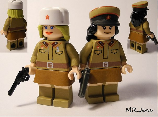 Лего русские солдаты
