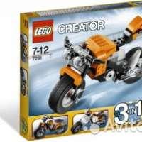 Lego мотоцикл