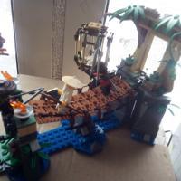 Лего Ninja go 70608 Битва Гармадона и мастера Ву