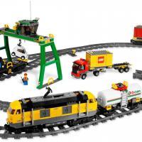 Lego поезд 7939