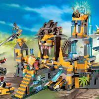 Продам конструктор Храм Чи клана Львов Lego