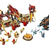 Lego Chima 70146 огненный храм феникса